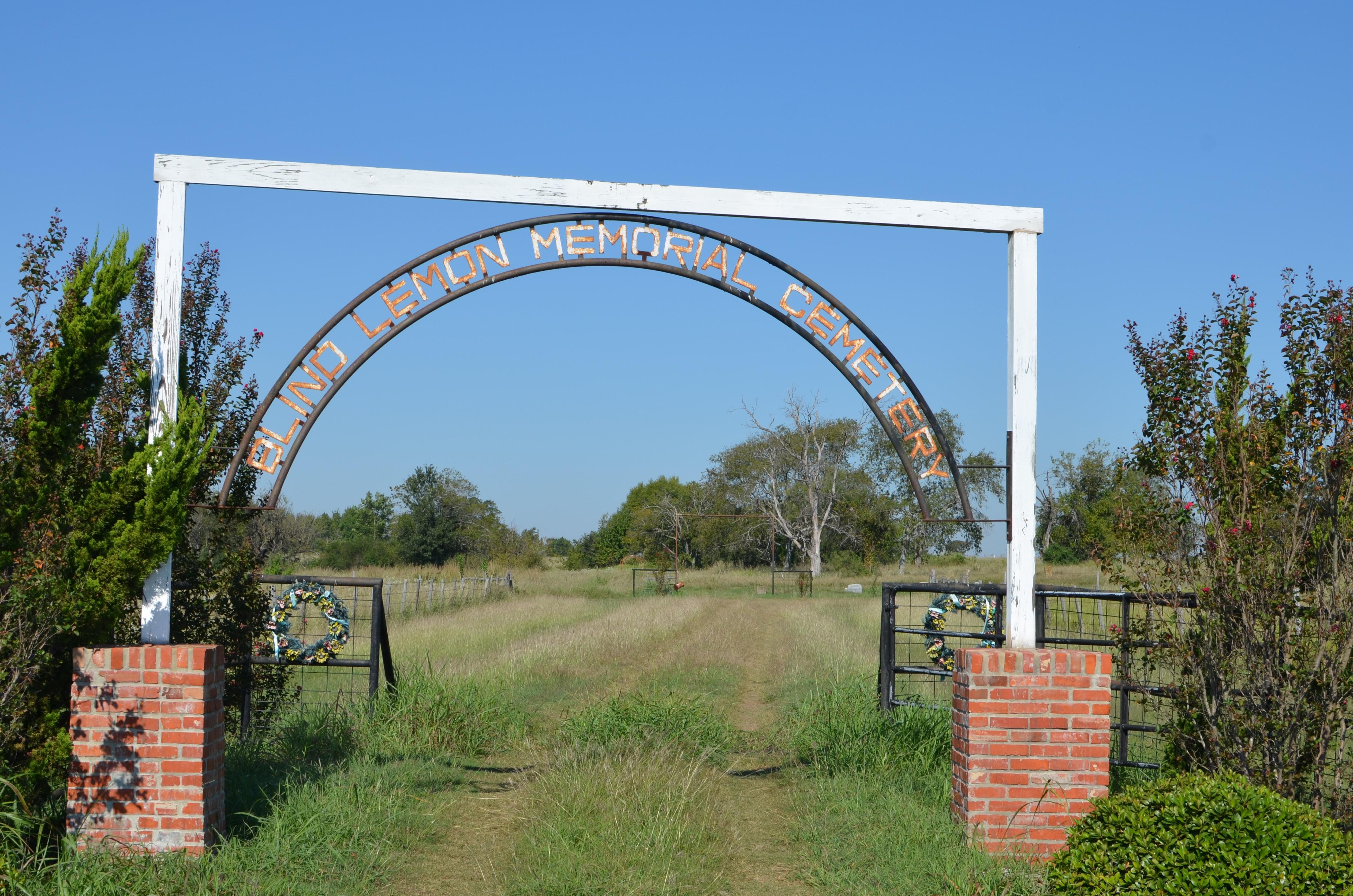 De voormalige Wortham Negro Cemetery